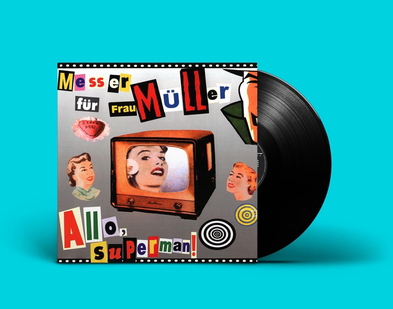[PREORDER] LP: Нож для Фрау Мюллер — «Алло, Супермен!» (1999/2021) [Black Vinyl]