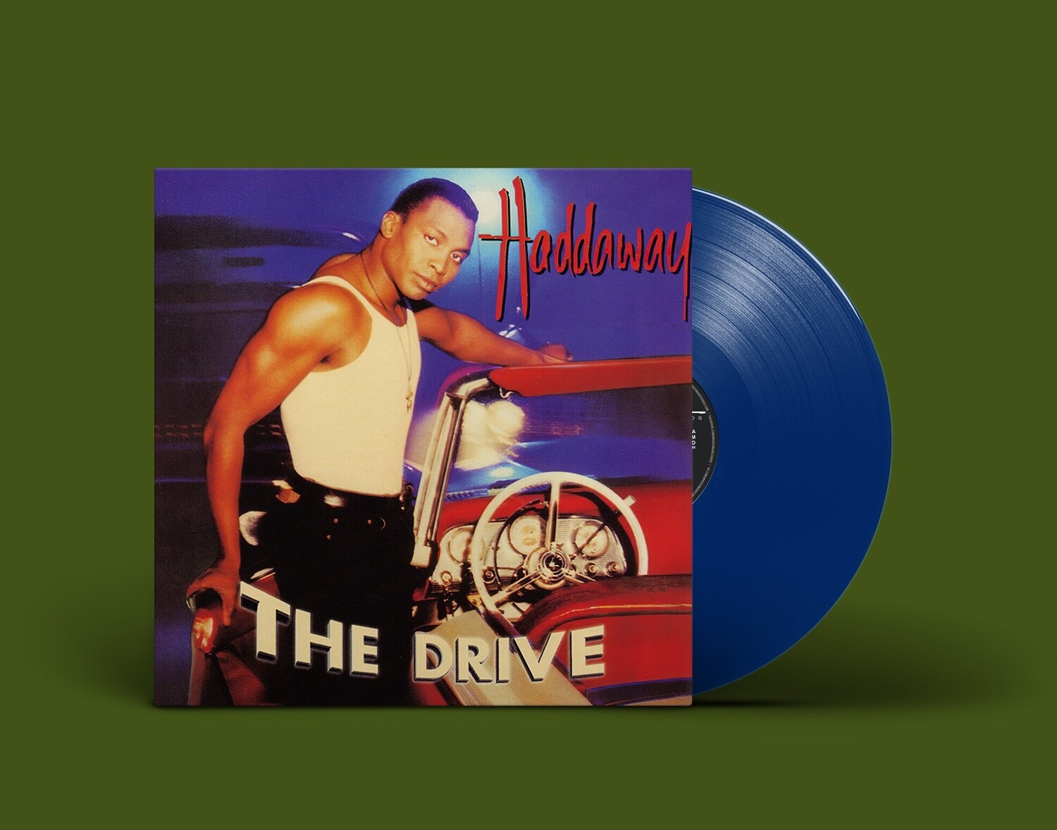 [PREORDER] LP: Haddaway — «The Drive» (1995/2022) [Limited Blue Vinyl]