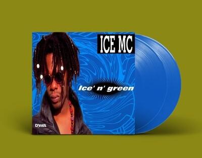 [PREORDER] LP: Ice MC — «Ice n' Green» (1994/2021) [2LP European Limited Blue Edition]