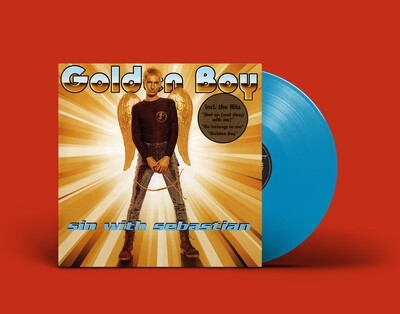 [PREORDER] LP: Sin With Sebastian — «Golden Boy» (1995/2022) [Blue Vinyl]