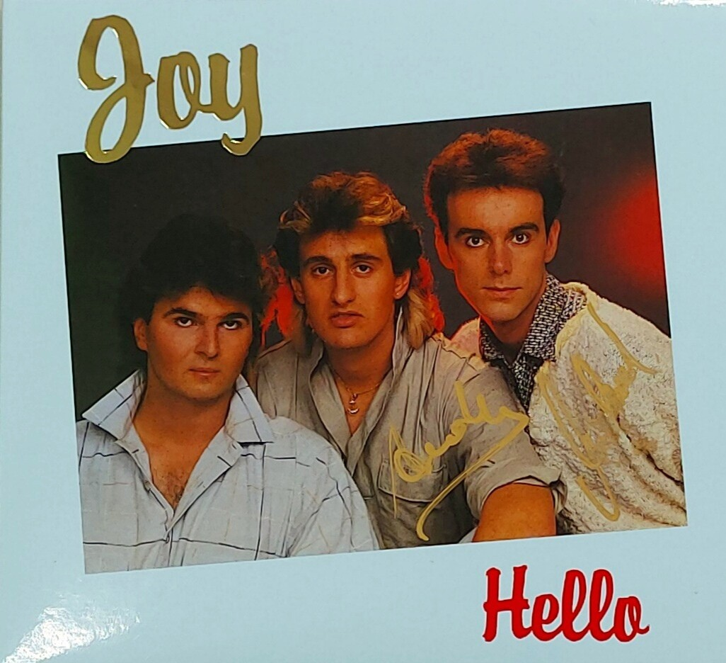 CD: Joy — «Hello» (1986/2021) [Deluxe Expanded Edition] SIGNED!