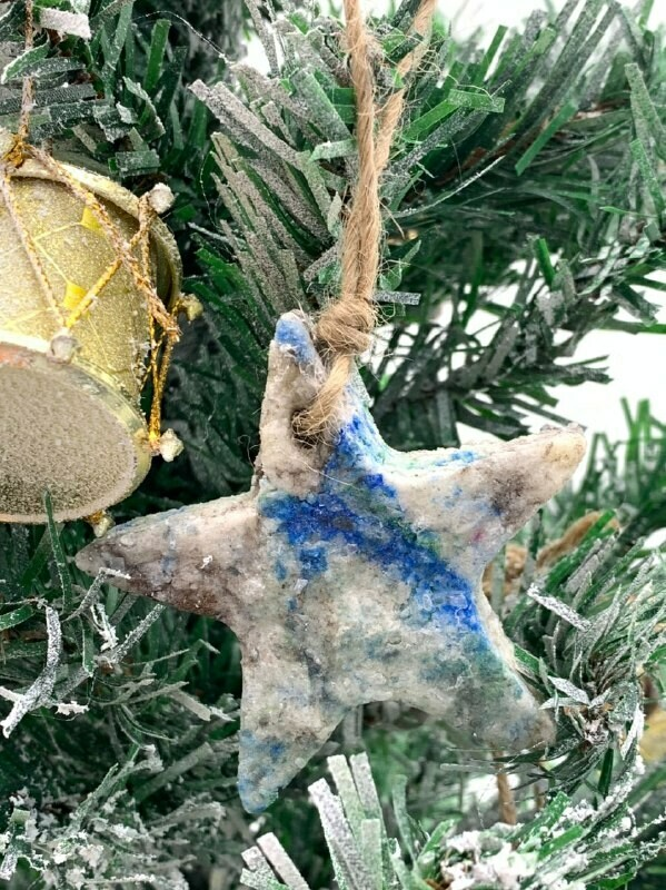 Аромакамень Звездочка — елочная игрушка