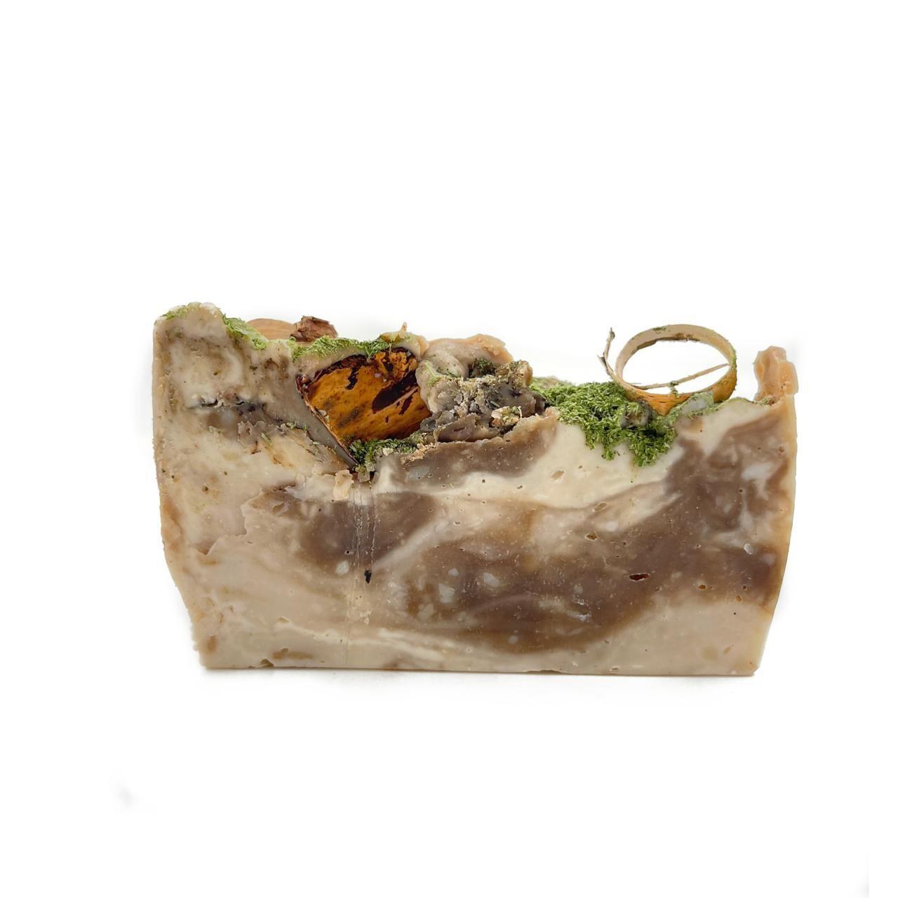 Натуральное березовое мыло с дегтем (1 шт)