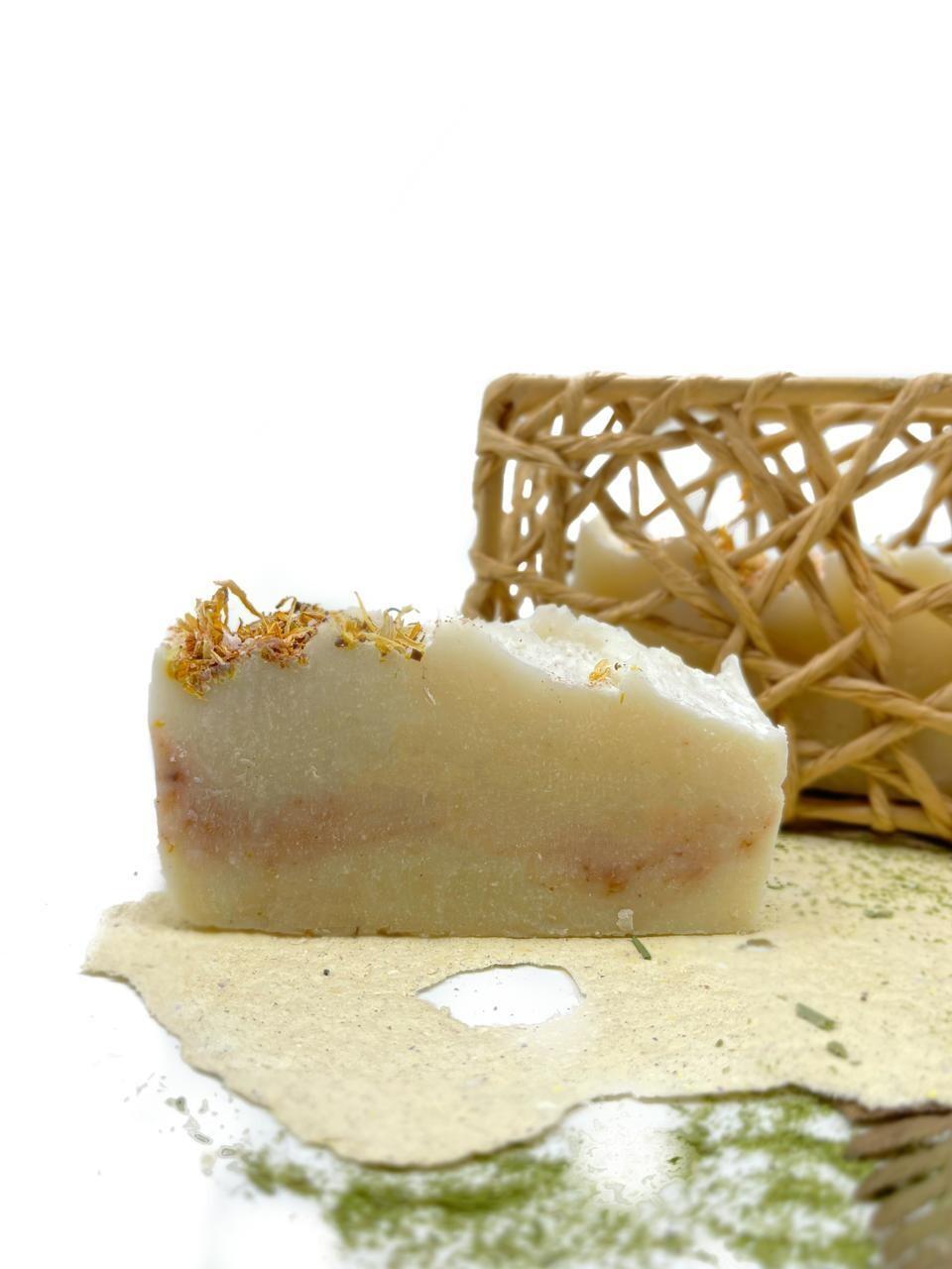 Мыло с органическим составом Календула (1 шт)