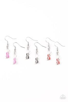 Starlet Shimmer - Violin Earrings