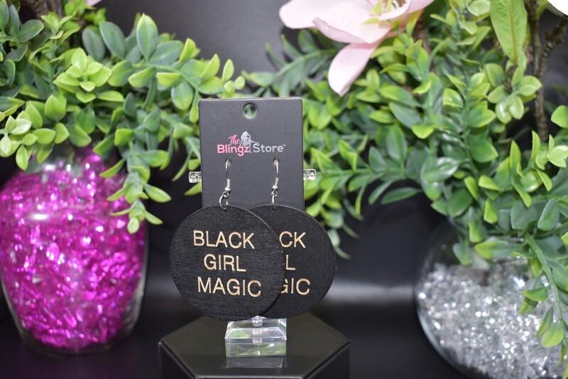 Black Girl Magic - Wooden