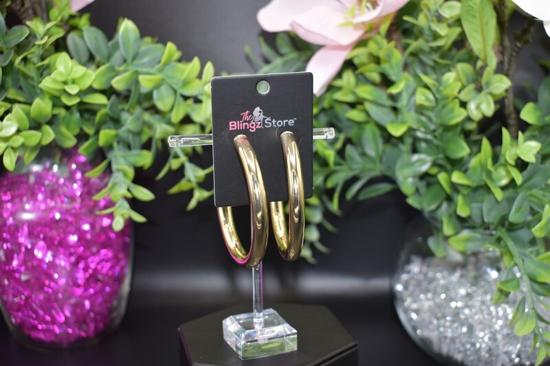 70mm Hoops - Gold