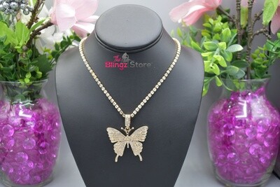 Butterfly Drip - Gold