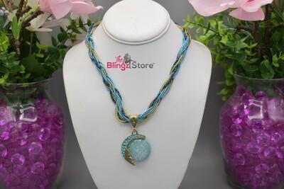 Poseidon's Heart - Blue