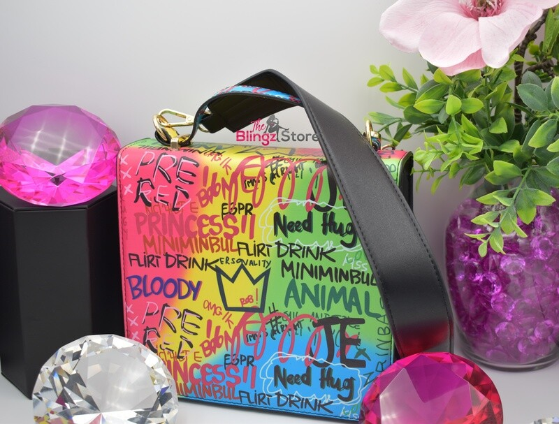 Graffiti Messenger Bag