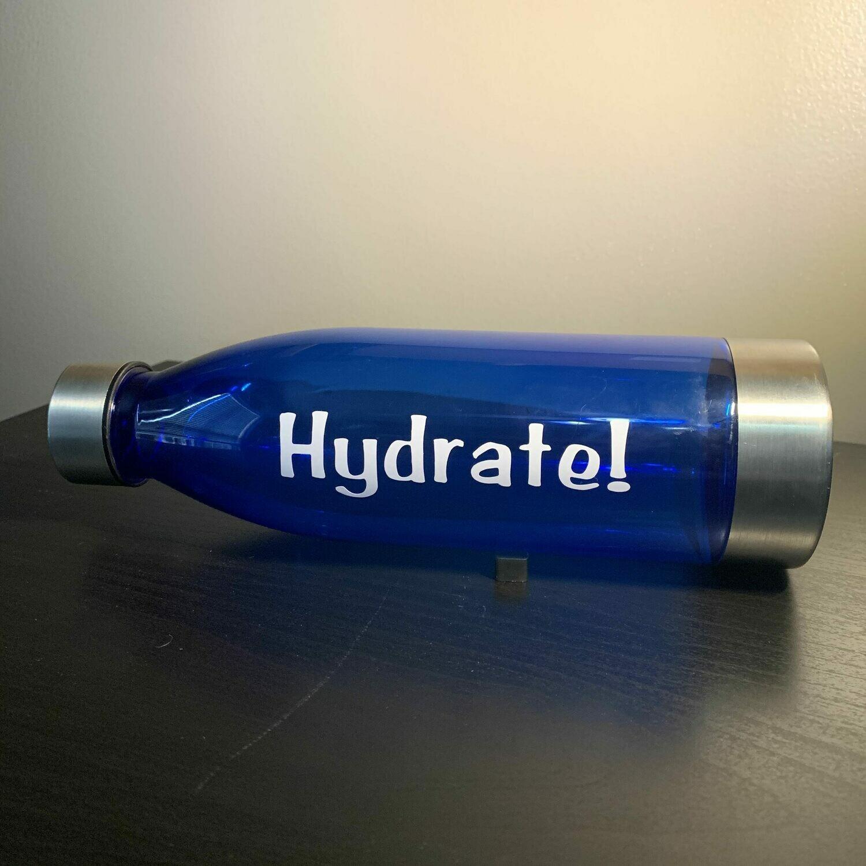Hydrate! Water Bottle