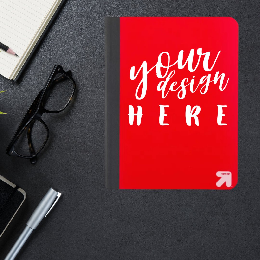 Customized Wide Ruled Composition Notebooks