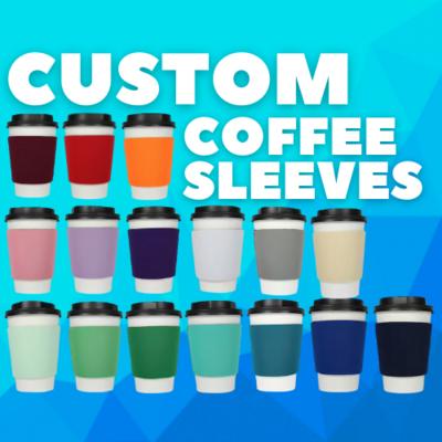 Custom Coffee Sleeves