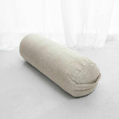 Linen Yoga Bolster *