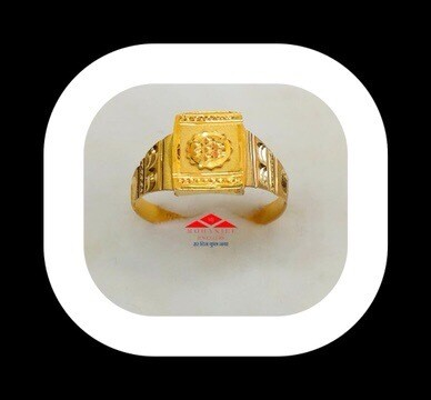 Chakra Gold Ring