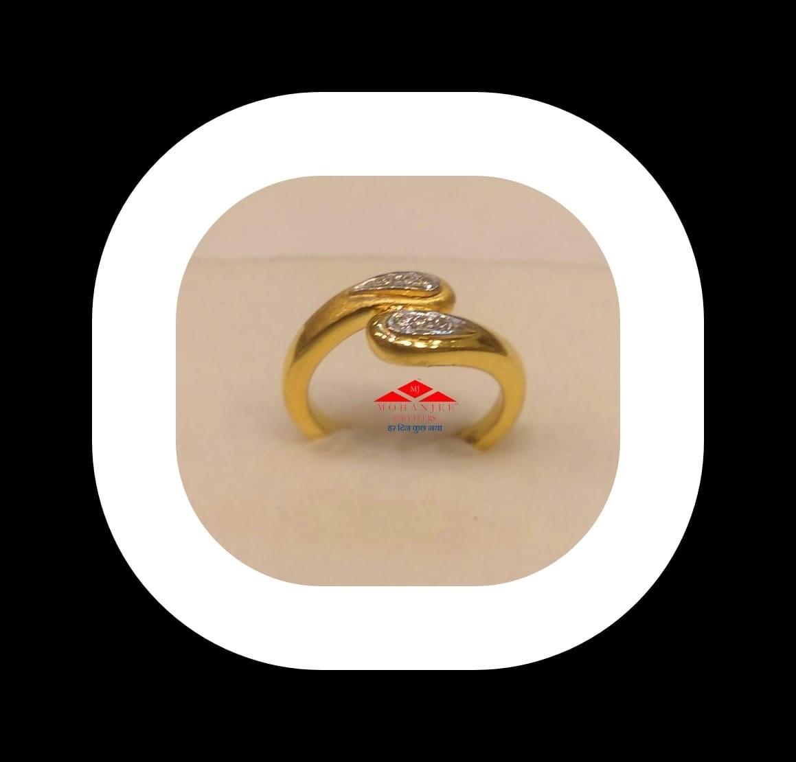 Yin n Yang Gold Ring