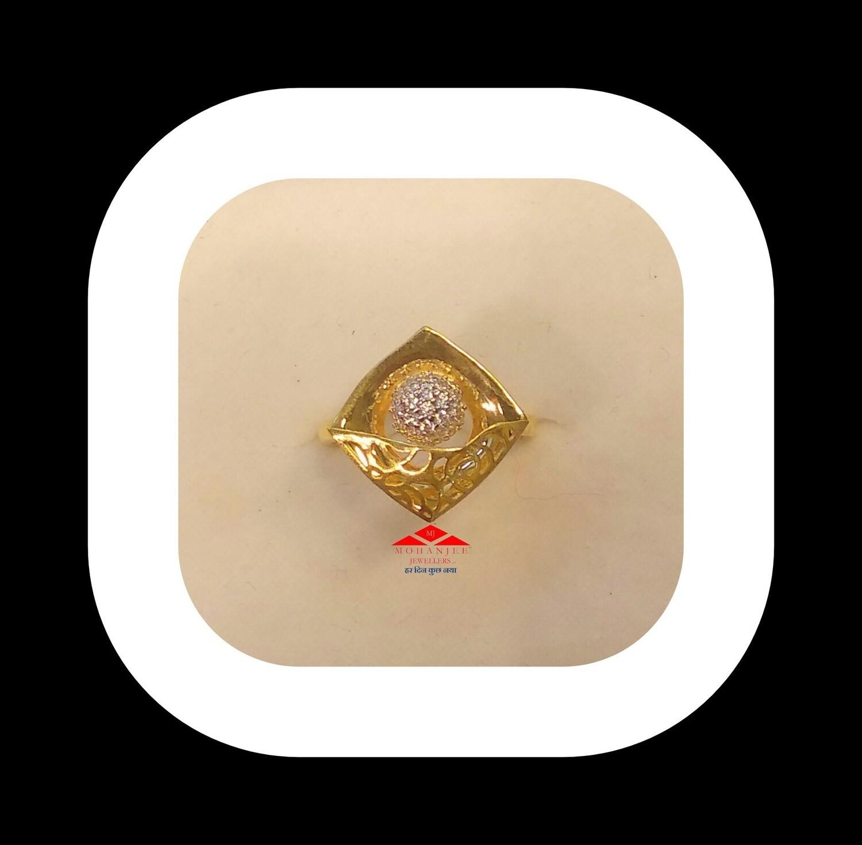 Desert Flower Gold Ring