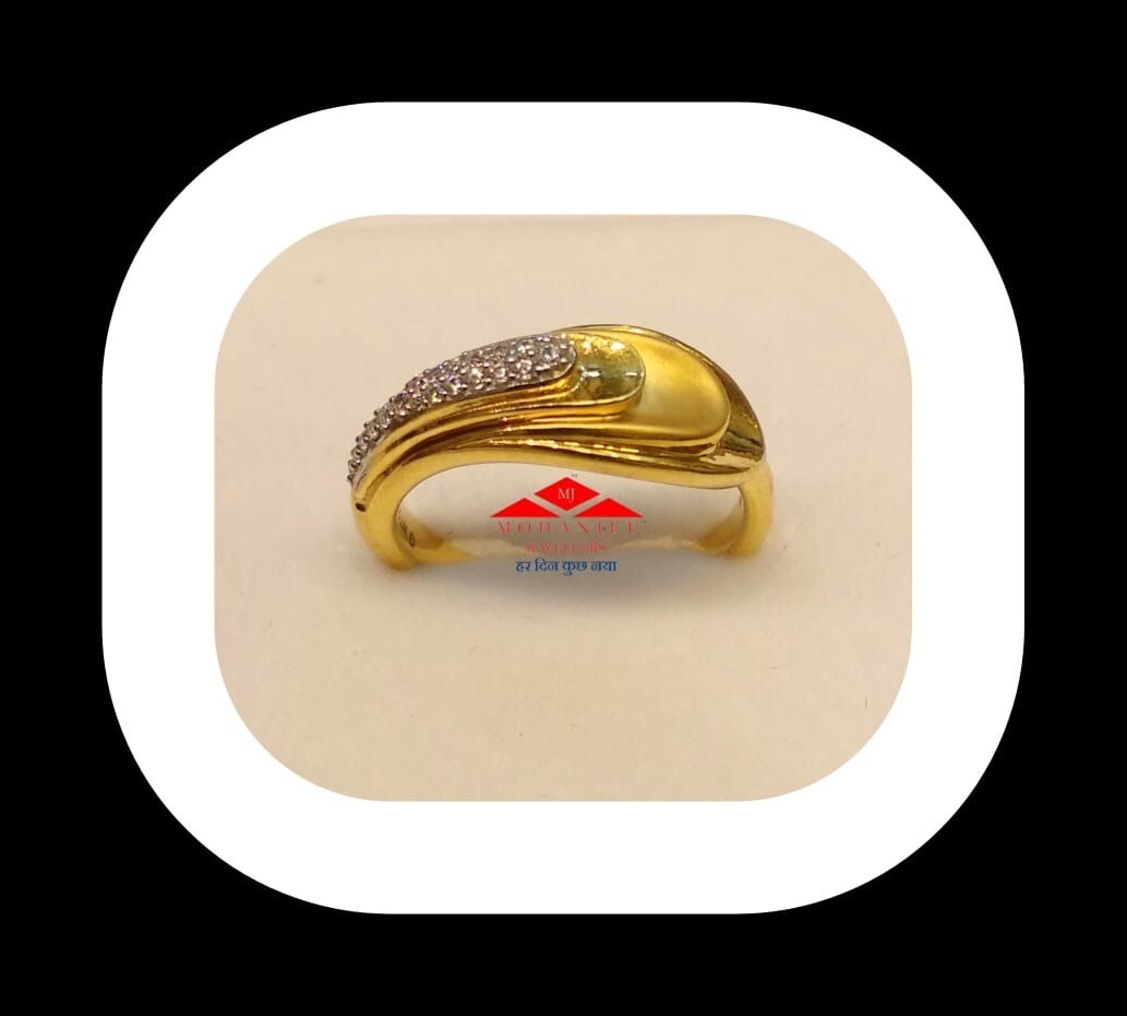 Flowing Into You Gold Ring