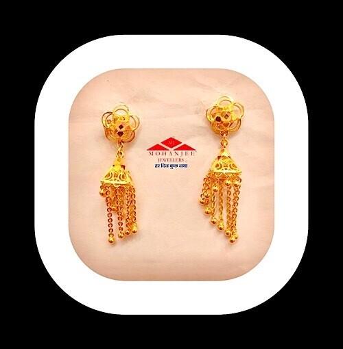 Quatro Gold Jhumki