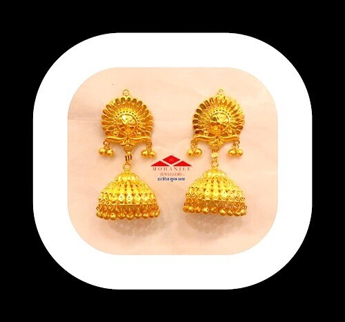 Soma Gold Jhumki