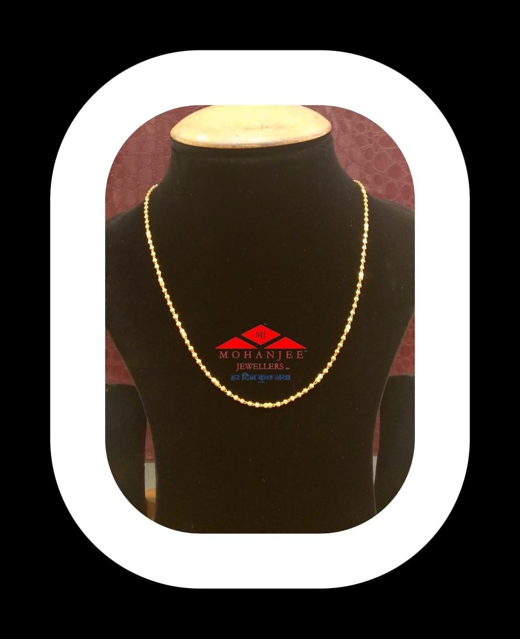Modern Matarmala Gold Chain