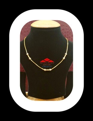 Barbie Barbell Gold Chain