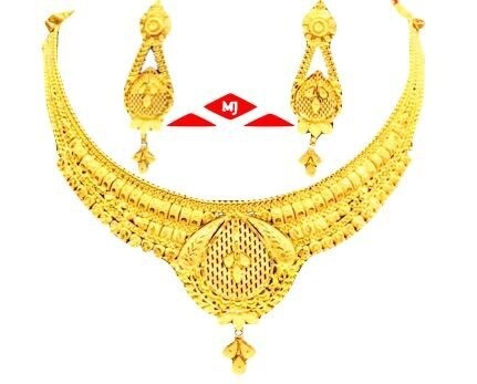 Oliya Gold Necklace Set