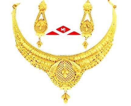 Oliya Gold Necklace Set