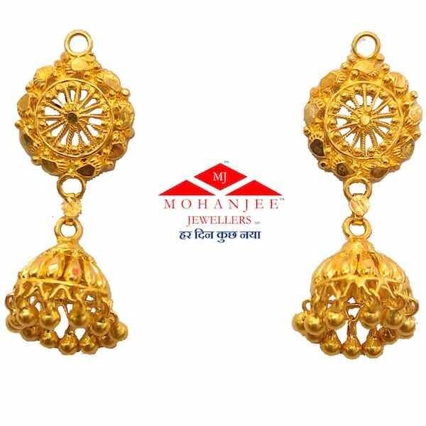 Sudarshan Top Gold Jhumki