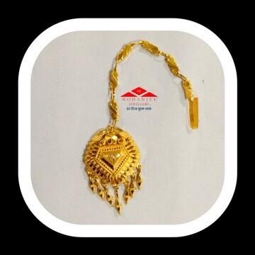 Lozenge Gold Maang Tikka