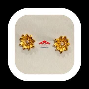 Sunflower Gold Tops / Earrings