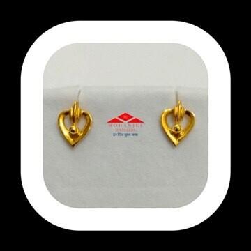 Heartbeats Gold Tops / Earrings
