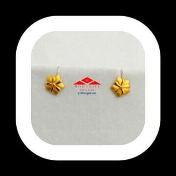 Waterlily Gold Tops / Earrings