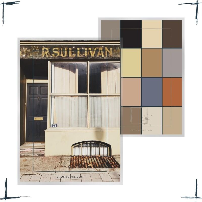 Sullivan Store, England, Poster-Set