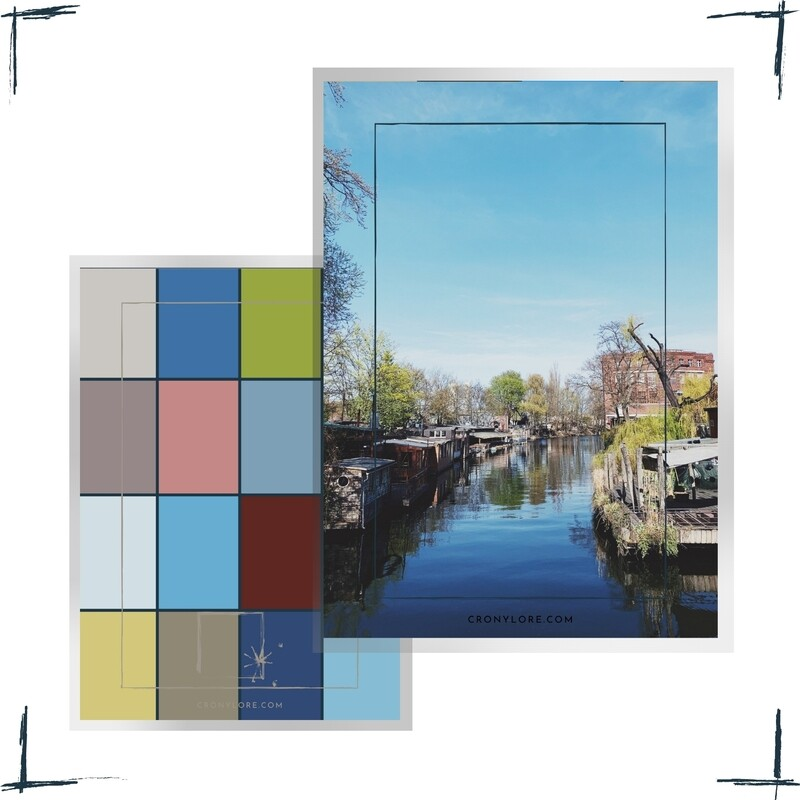 Water Living, Germany, Poster-Set