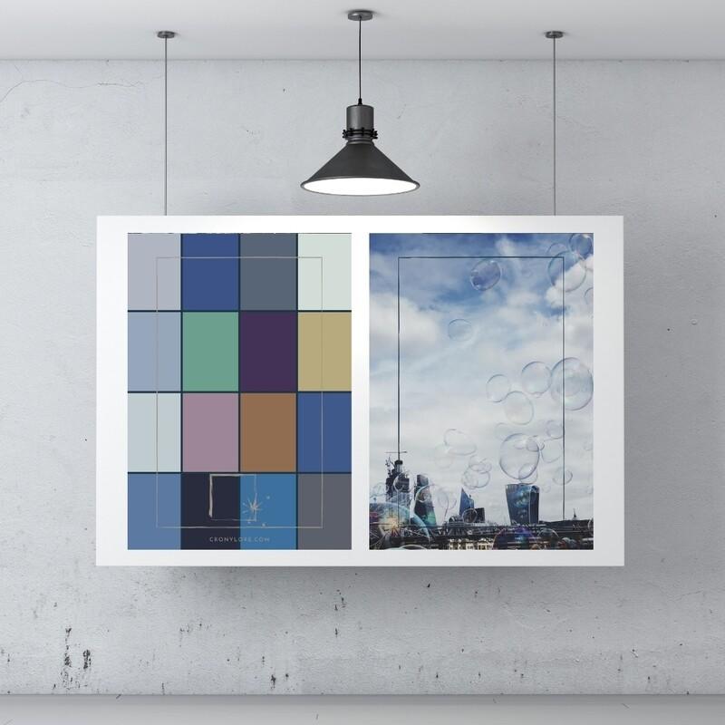 Bubble + Colour Palette (Poster Edition 2021/1)