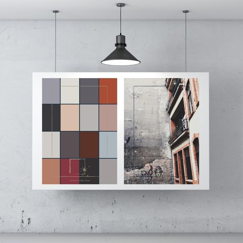 Backyard + Colour Palette (Poster Edition 2021/1)