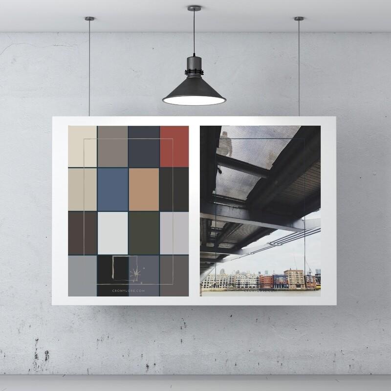 Men + Colour Palette (Poster Edition 2021/1)