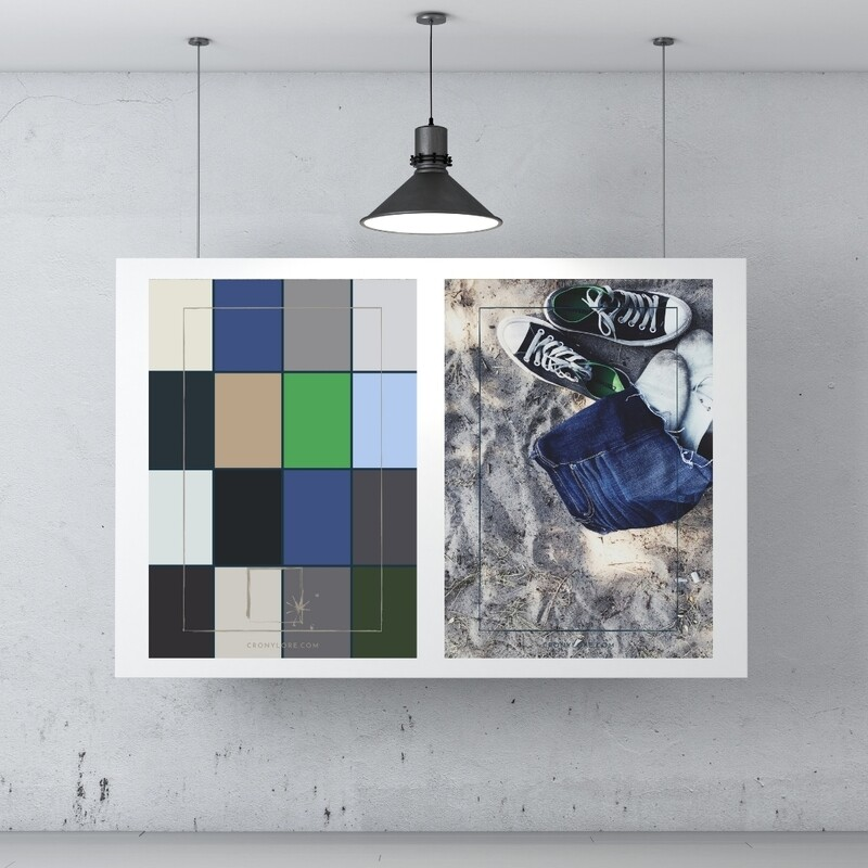 Summer + Colour Palette (Poster Edition 2021/1)