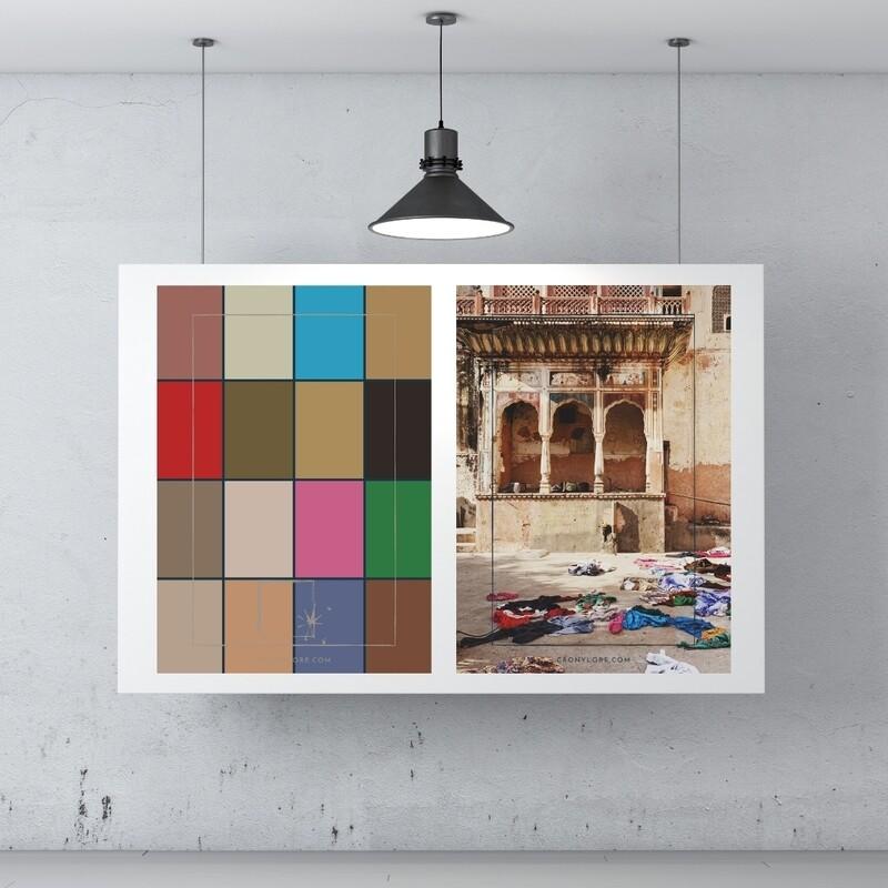 Temple + Colour Palette (Poster Edition 2021/1)