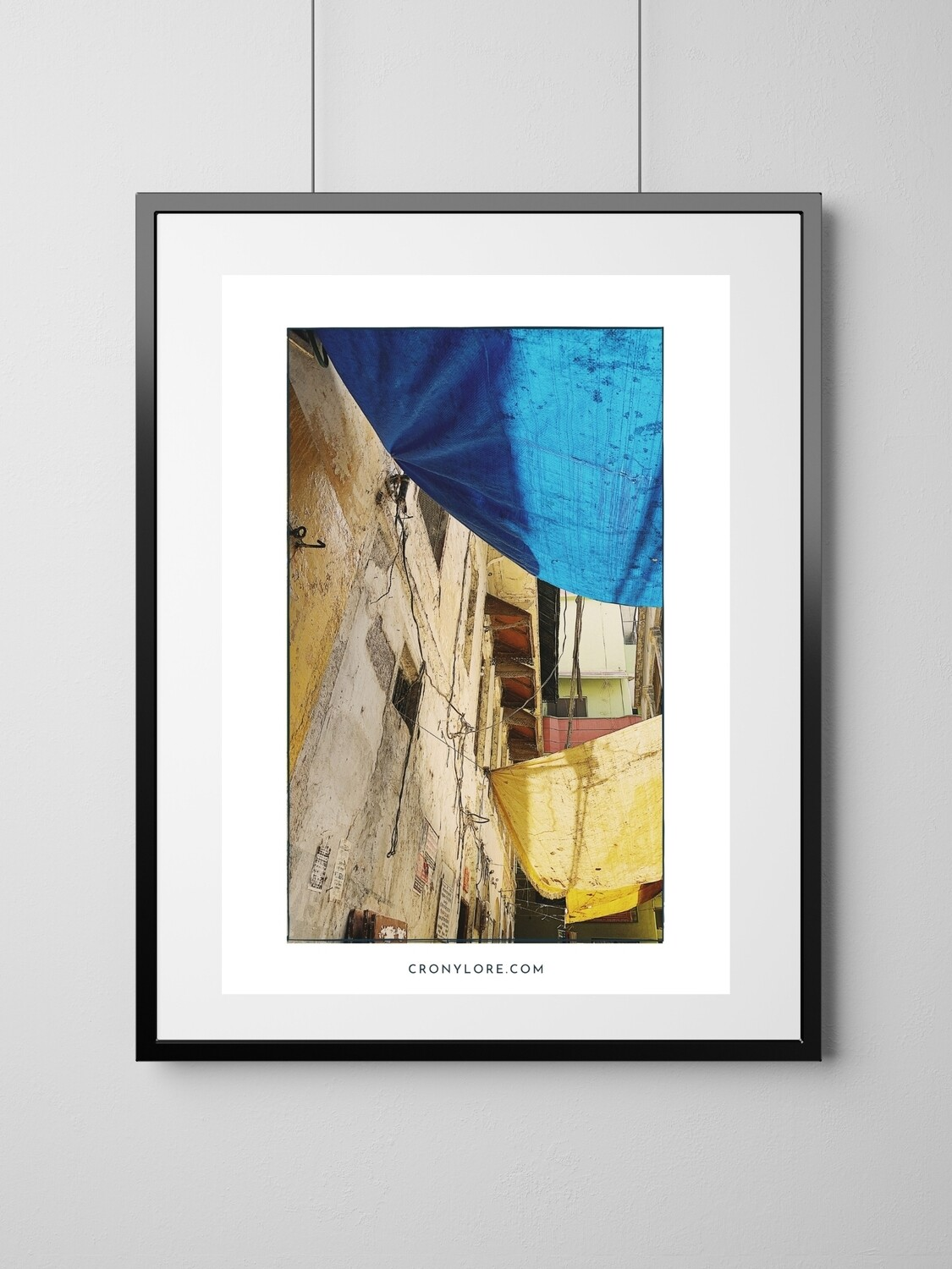 Alley (Art Poster, Instant Download)