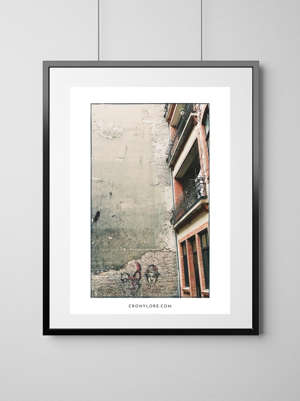 Backyard (Art Poster, Instant Download)