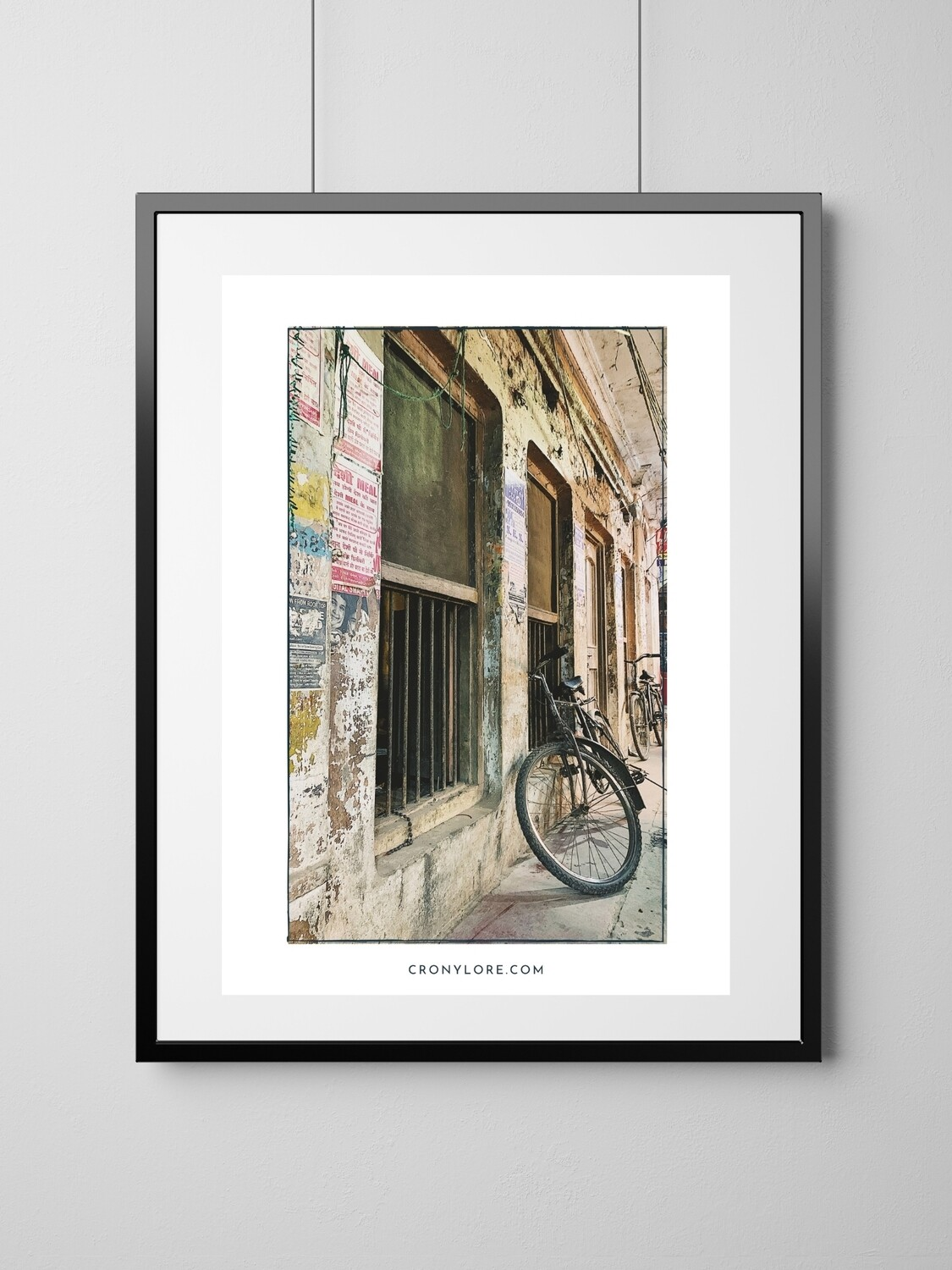 Bicycle (Art Poster, Instant Download)
