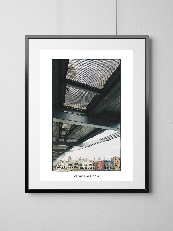 Bridge (Art Poster, Instant Download)