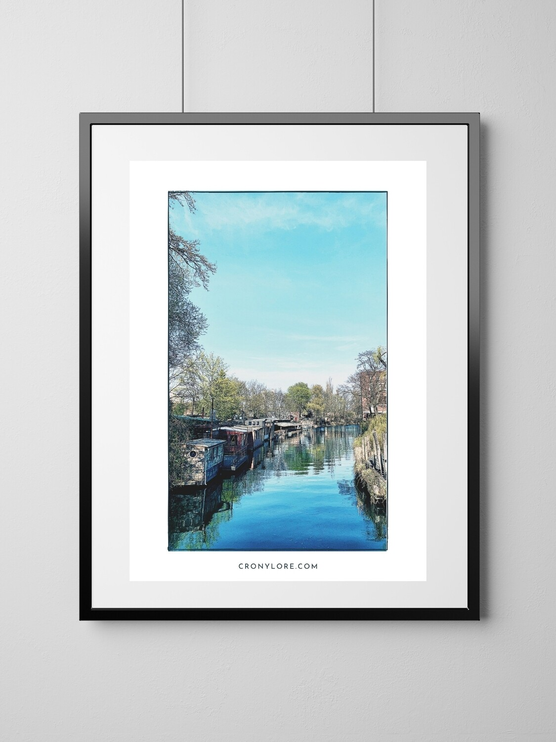 Canal (Art Poster, Instant Download)