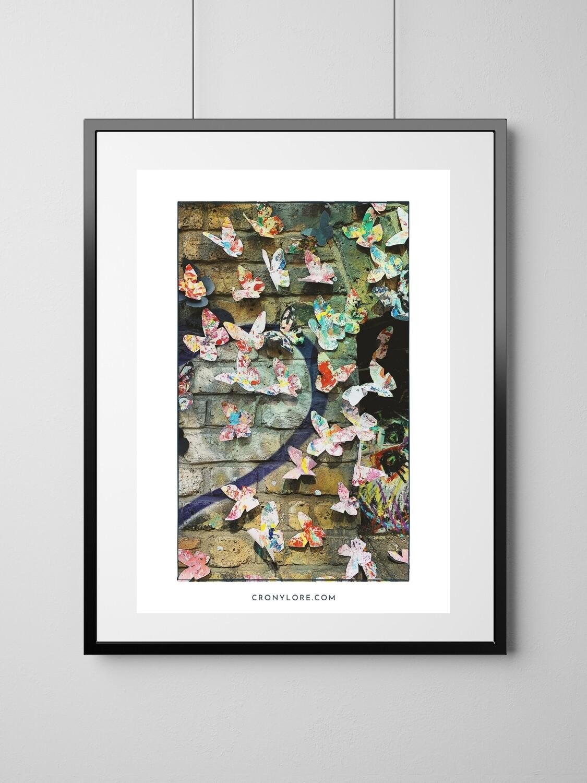 Butterflies (Art Poster, Instant Download)