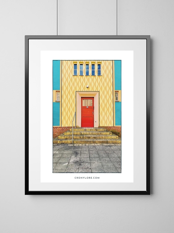 Gartenstadt (Art Poster, Instant Download)