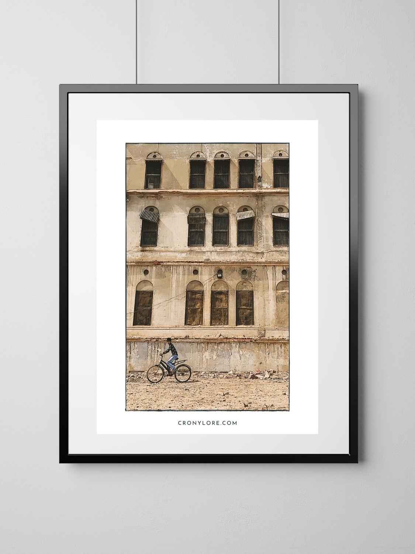 Building (Art Poster, Instant Download)