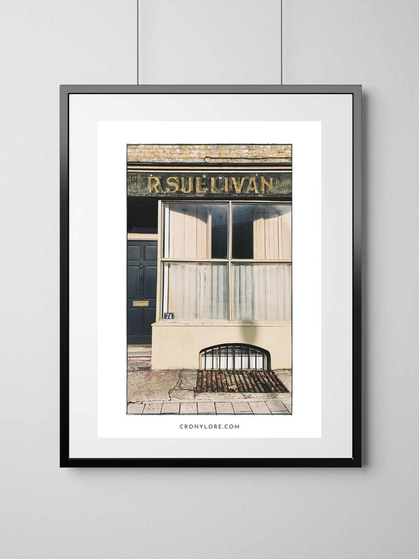 Sullivan (Art Poster, Instant Download)