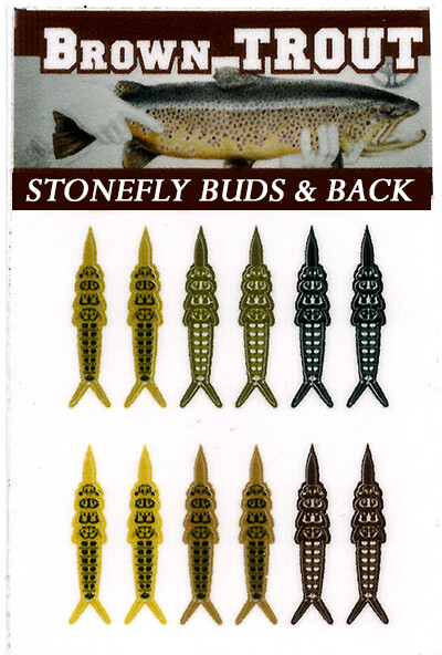 Stonefly buds and back